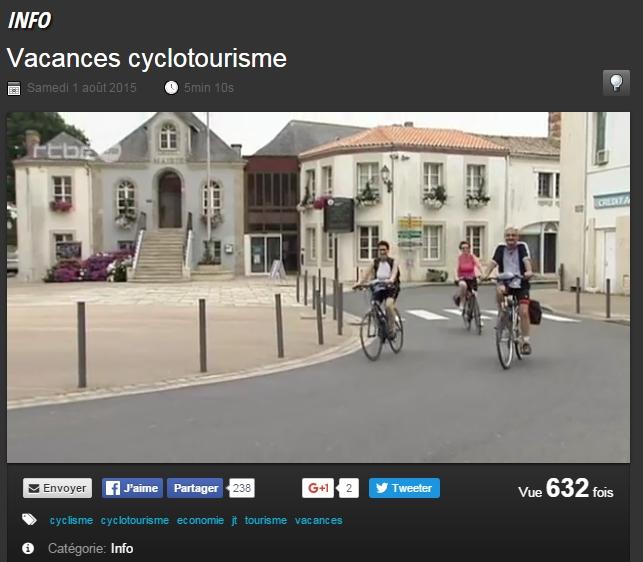 cyclotourisme en vendee