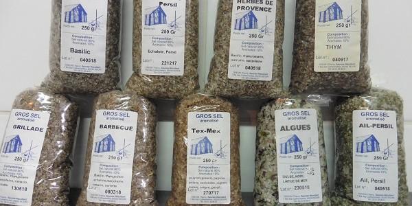Gros sel Aromatisé