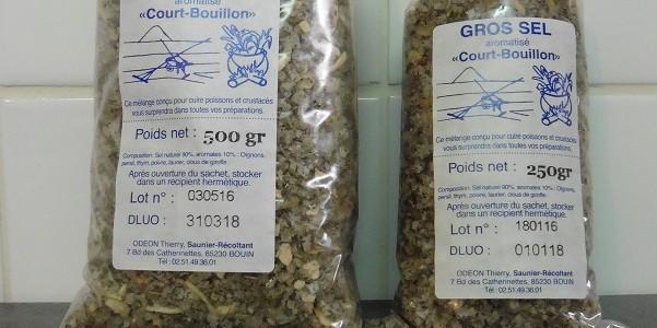 "Gros sel ""Court-bouillon"""